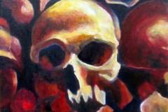 Painting#33-Skull