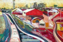 Painting#35-Railway-Lines-Grand-Junction-Road-Bridge