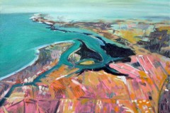 Painting#40-LeFevre-Peninsula-from-the-Air