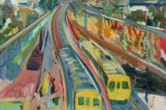 Painting#60-Railway-Tracks-Looking-South-Regency-Road