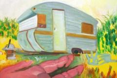 Painting#79-Caravan