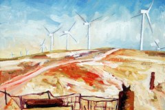 Painting#87-Wind-Farm-Snowtown