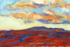 Painting#94-View-over-Launceston