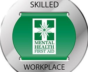 Mental Health training earns silver badge