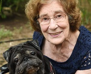 Pets are part of the family at Regency Green Aged Care