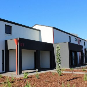 Townhouse transformation creates affordable housing in the west