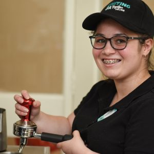 New cafe is creating meaningful futures