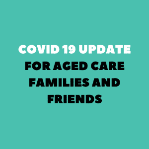 FAQ for aged care families and friends